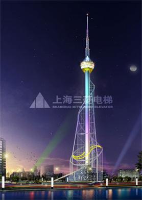 山东临沂广播电视发射塔